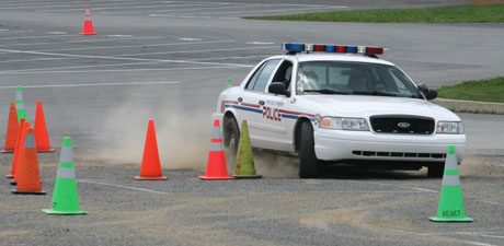 polics defensive driving training